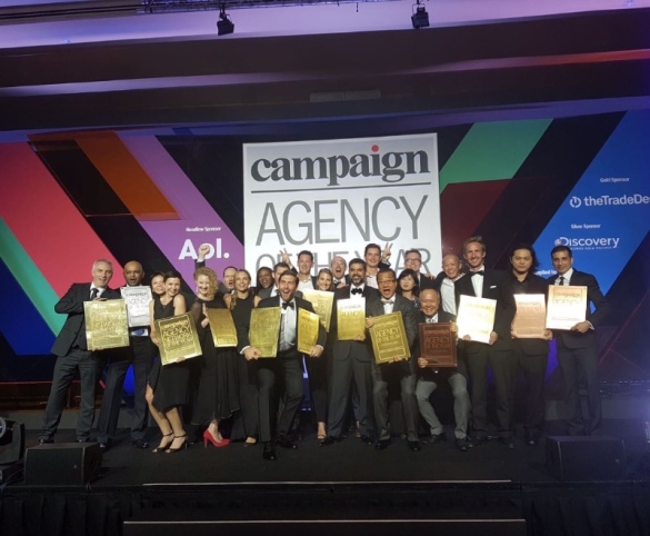 Dentsu Aegis - South East Asia Campaign Agency of the Year 2016